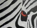 Zebra von Beke, in der Malschule Maluck