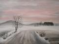 Winterlandschaft von Cindy, in der Malschule Maluck