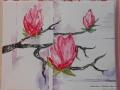 Frühlingsacrylbild von Gabi