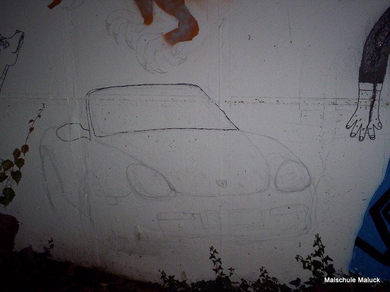 010 Ein Porsche von Sandra entsteht
