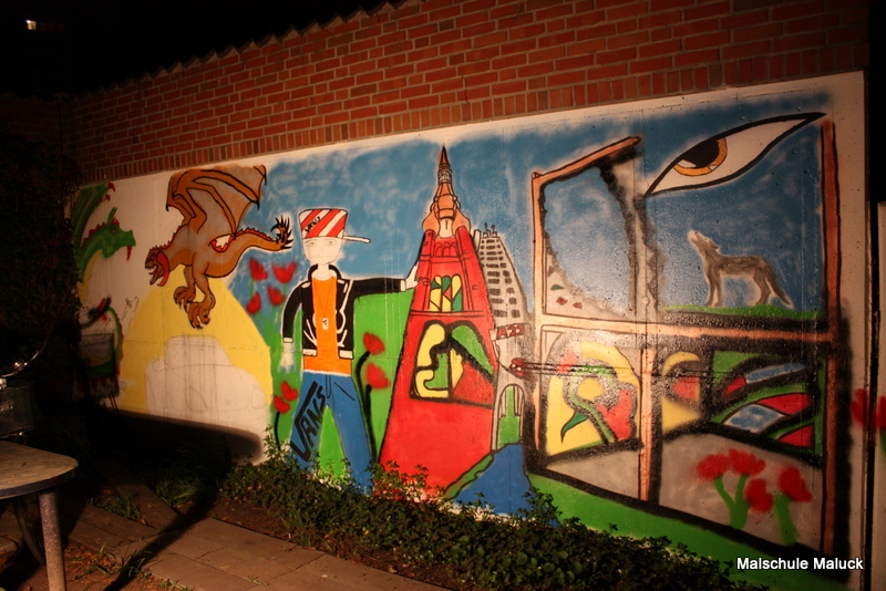 013 das Graffiti fast fertig