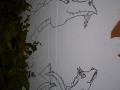 003 Vorzeichnung Drachen von Lena