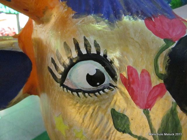 01 Lulu die Sternenkuh, Malschule Maluck