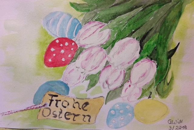 Frohe Ostern von Gabi
