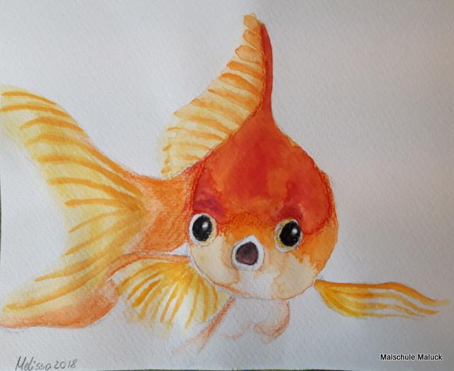 Goldfisch von Melissa