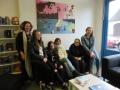 Malerinnen mit Betreuerin Frau Wormland vom Brüggerhof und ich links im Bild