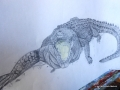 01 von Aline in Bleistift, in der Malschule Maluck